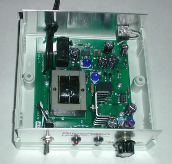 SG7 Pro Colloidal Silver Generator inside view